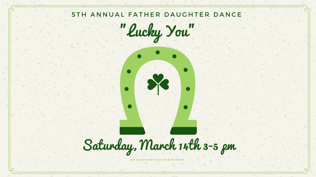 5th Annual Father Daughter Dance graphic