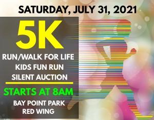 2021 RUN/WALK FOR LIFE 5K